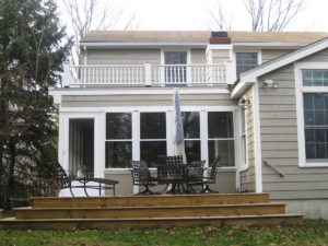 Sunroom & Deck Addition