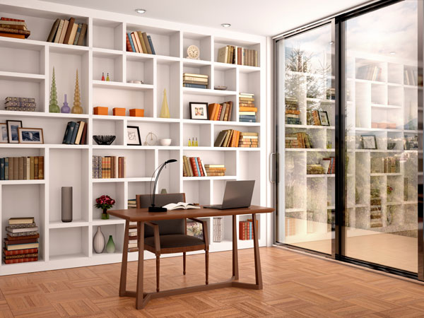 Home-office-with-library-style-shelves